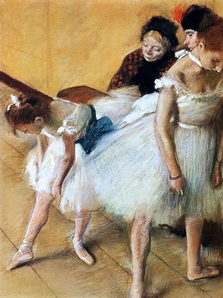 Экзамен по танцам   Эдгар Дега