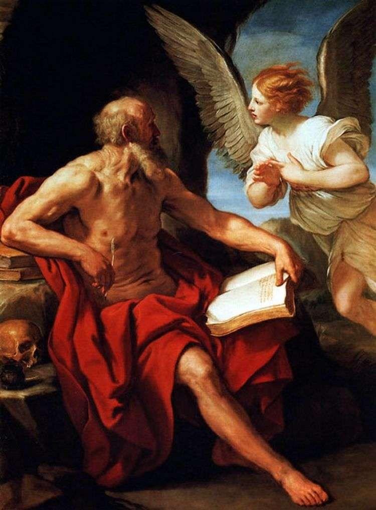 Святой Иероним и ангел   Гвидо Рени