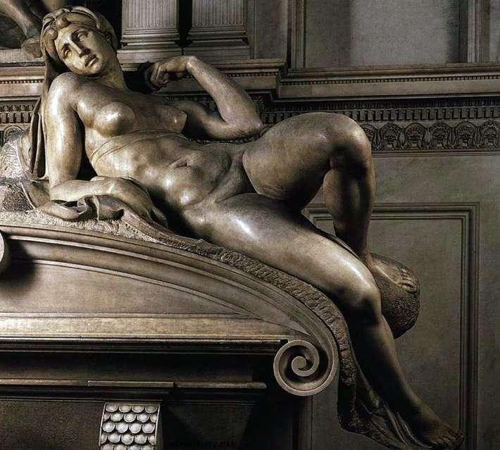 Утро (скульптура)   Микеланджело Буонарроти
