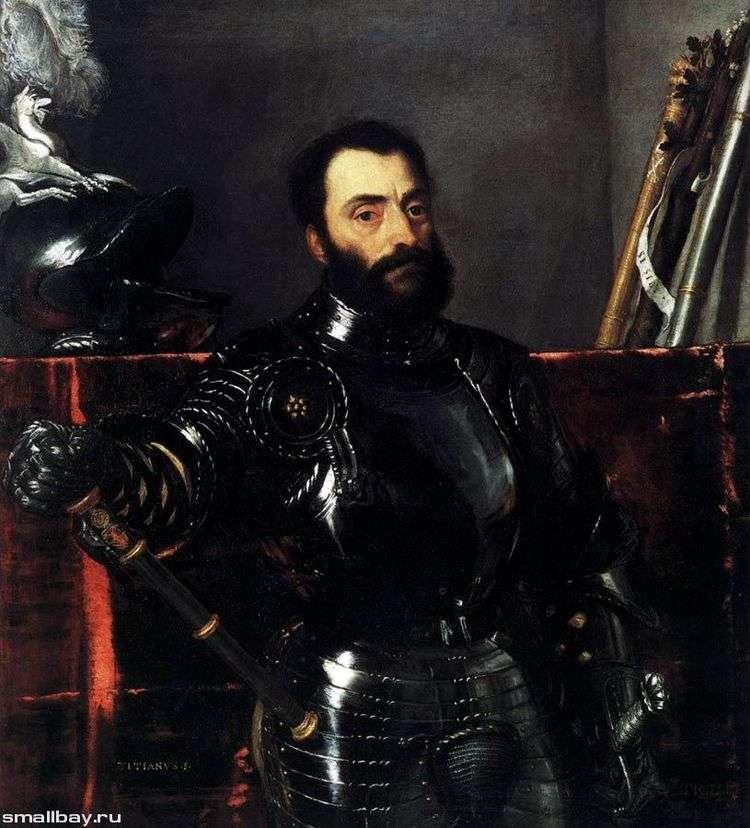 Портрет Франческо Мариа делла Ровере   Тициан Вечеллио