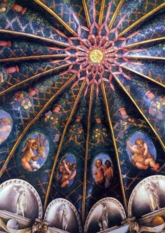 Росписи монастыря Сан Паоло в Парме   Корреджо (Антонио Аллегри)