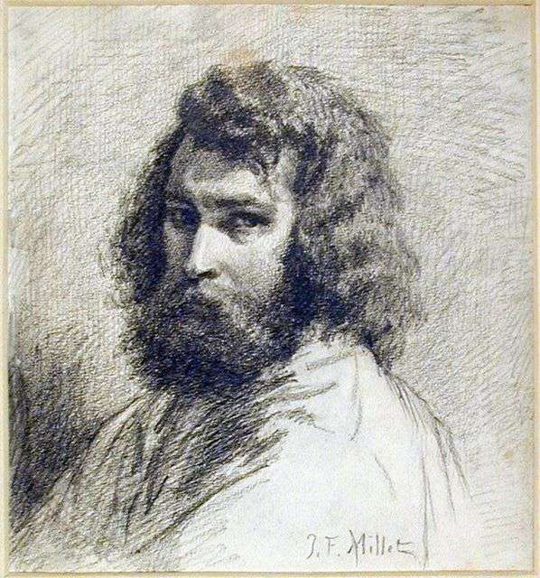 Автопортрет   Жан Франсуа Милле