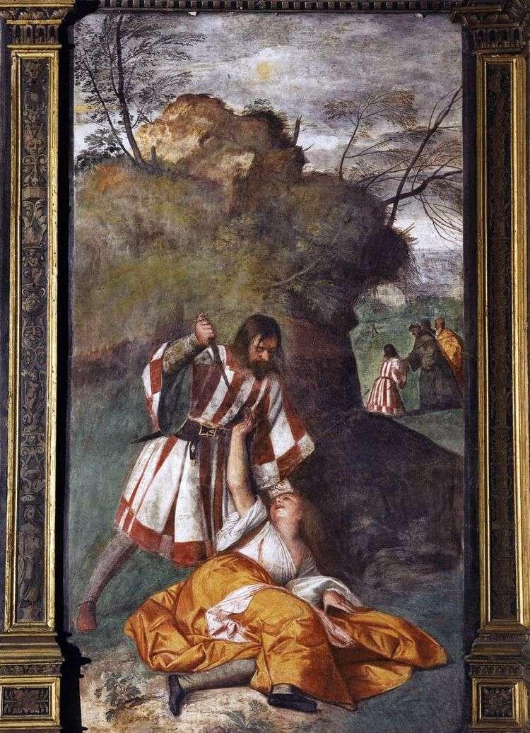 Ревнивый муж (Чудо ревнивого мужа)   Тициан Вечеллио