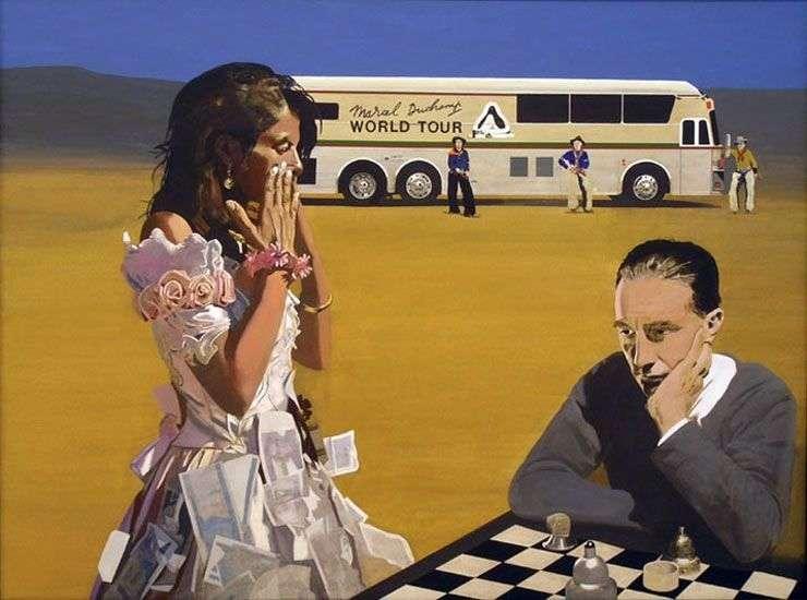 Игра в шахматы с Трейси   Питер Блейк