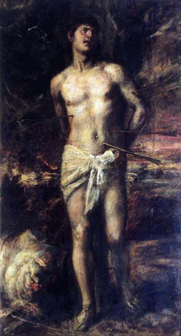 Святой Себастьян   Тициан Вечеллио