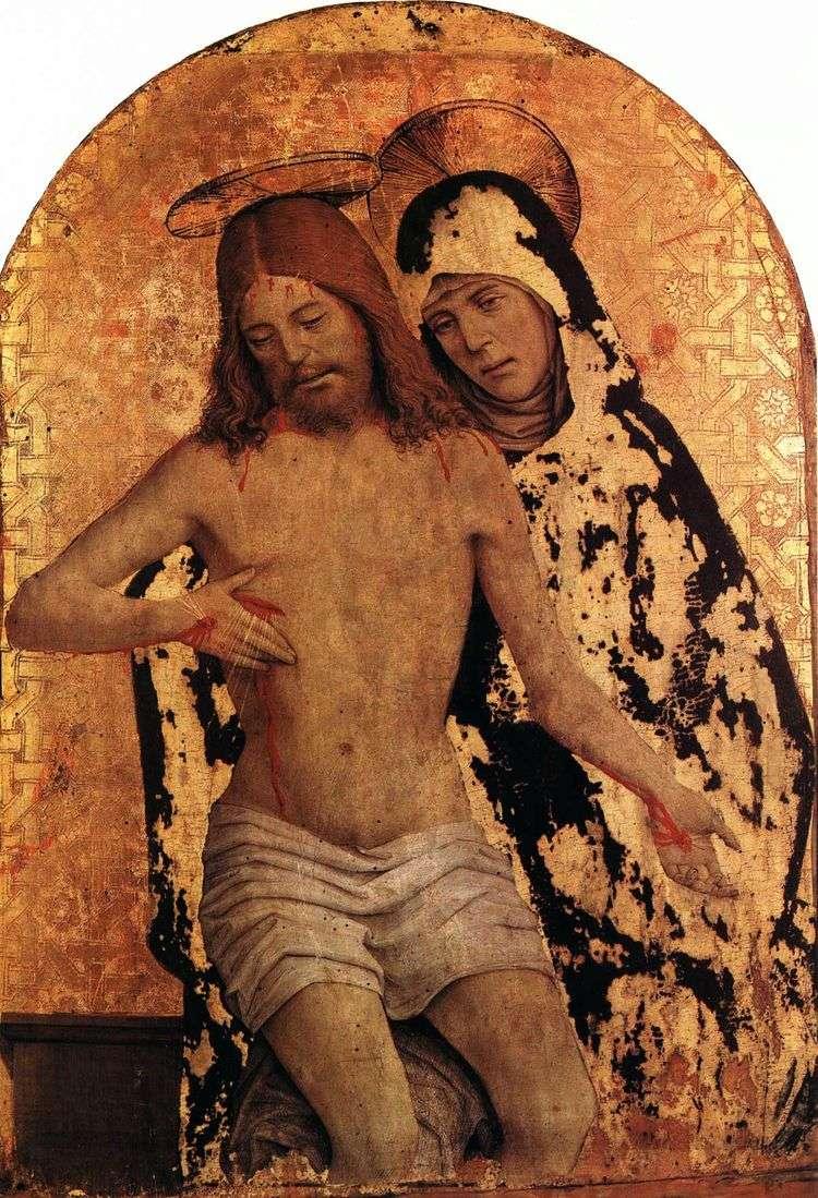 Мария с телом Христа   Джан Спанцотти