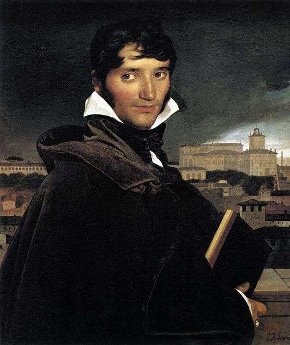 Портрет художника Франсуа Мариуса Гране   Жан Огюст Доминик Энгр