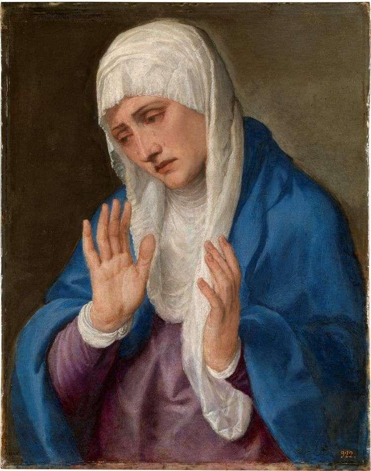 Скорбящая мать   Тициан Вечеллио