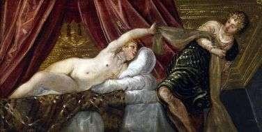 Иосиф и жена Потифара   Тинторетто