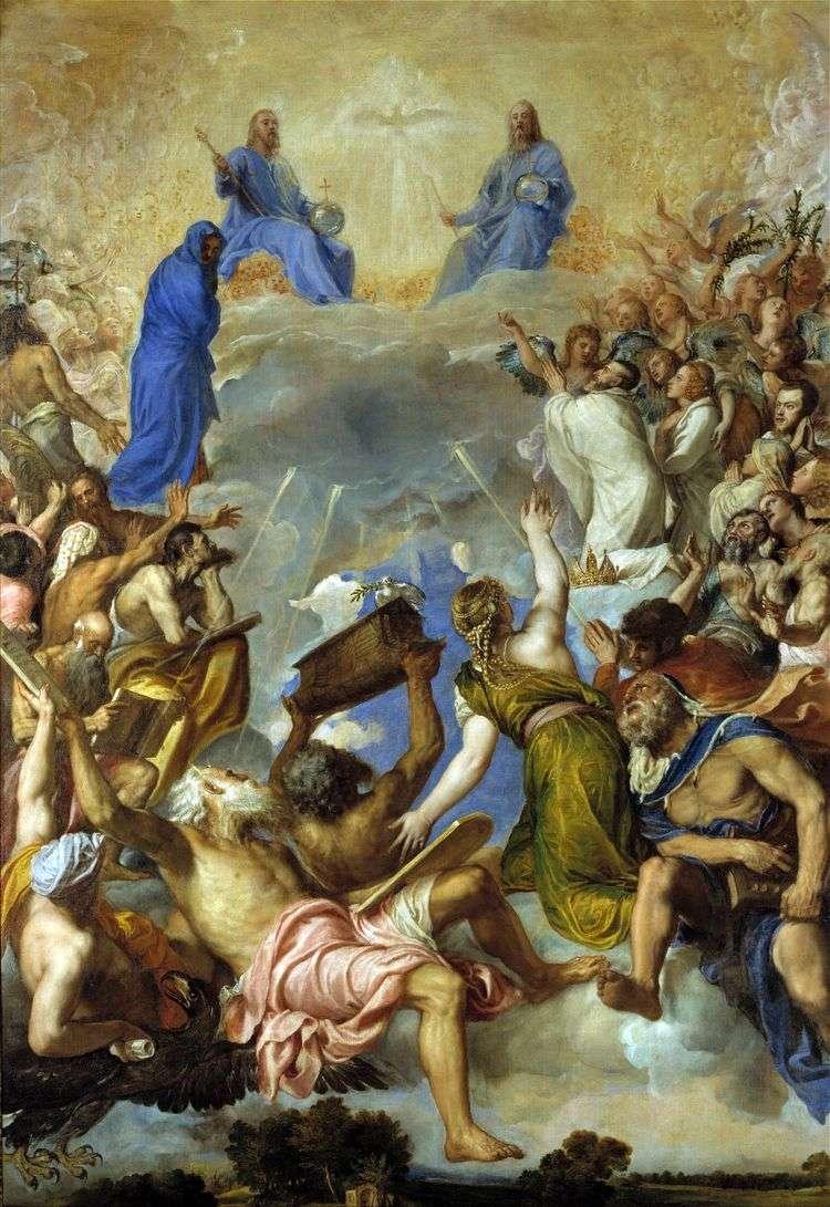 Троица во славе   Тициан Вечеллио