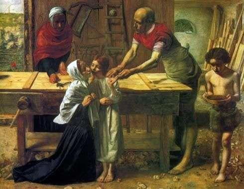 Христос в родительском доме   Джон Эверетт Миллес
