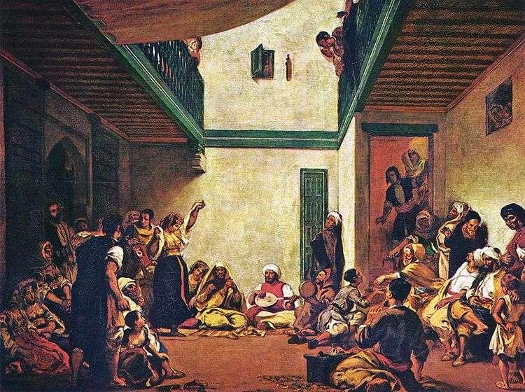 Еврейская свадьба   Эжен Делакруа
