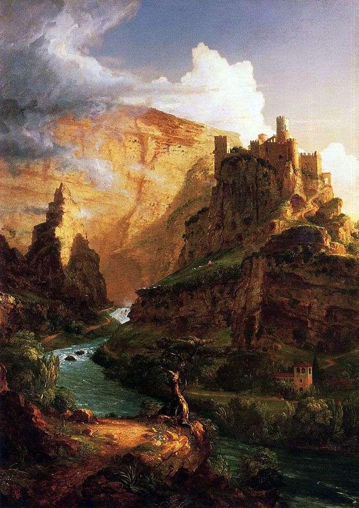 Замок на горе   Томас Коул