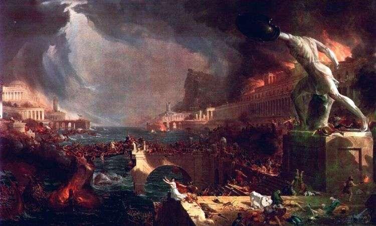 Падение Римской империи   Томас Коул