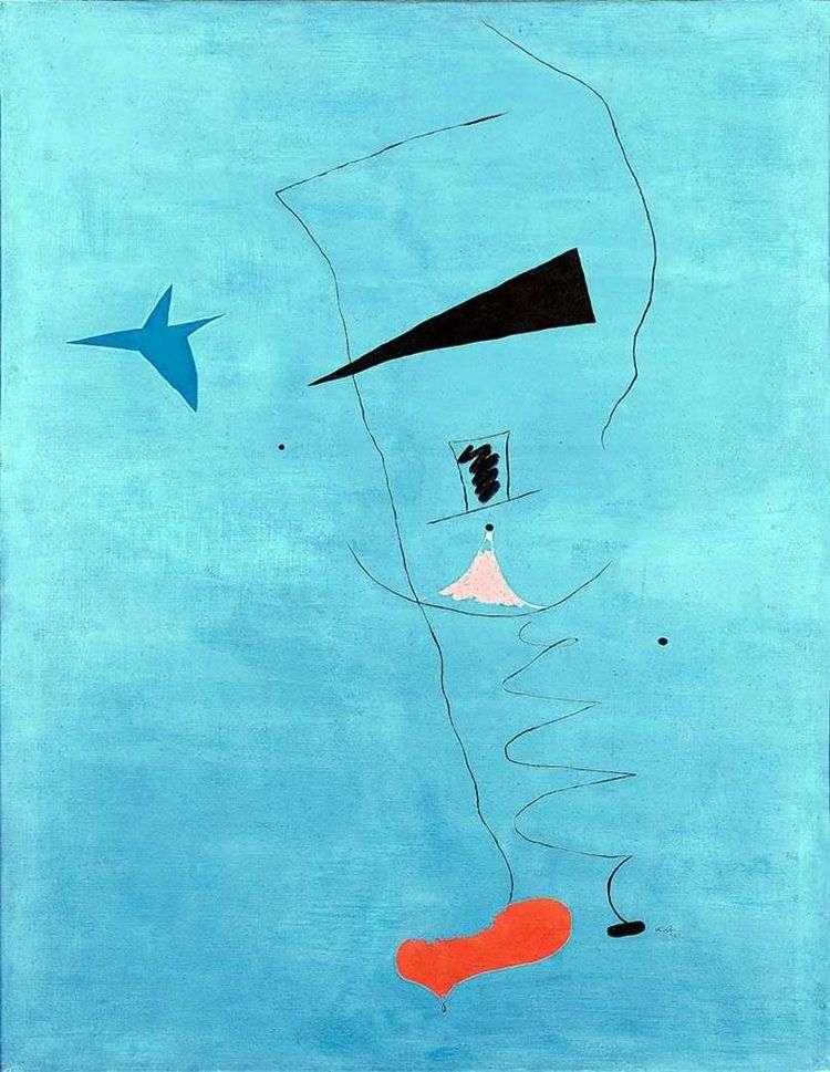 Голубая звезда   Хуан Миро