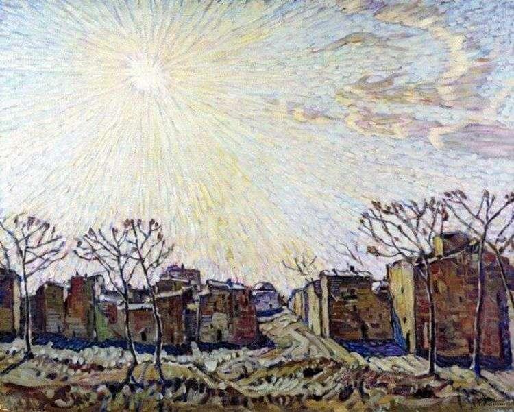 Солнце   Константин Богаевский