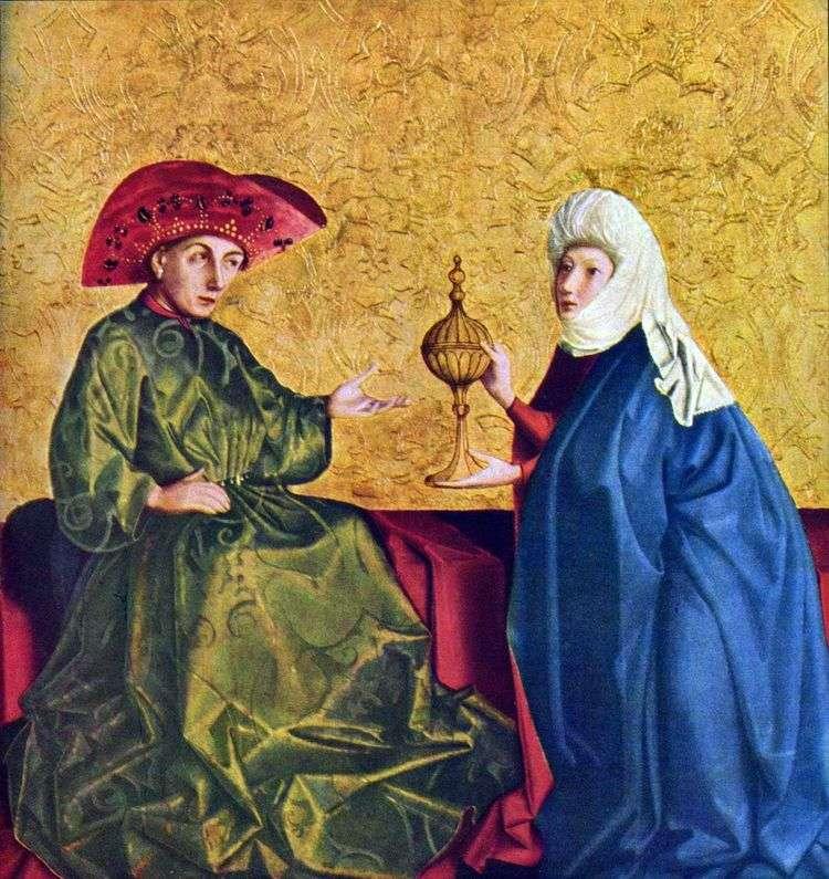 Царь Соломон и царица Савская   Конрад Виц