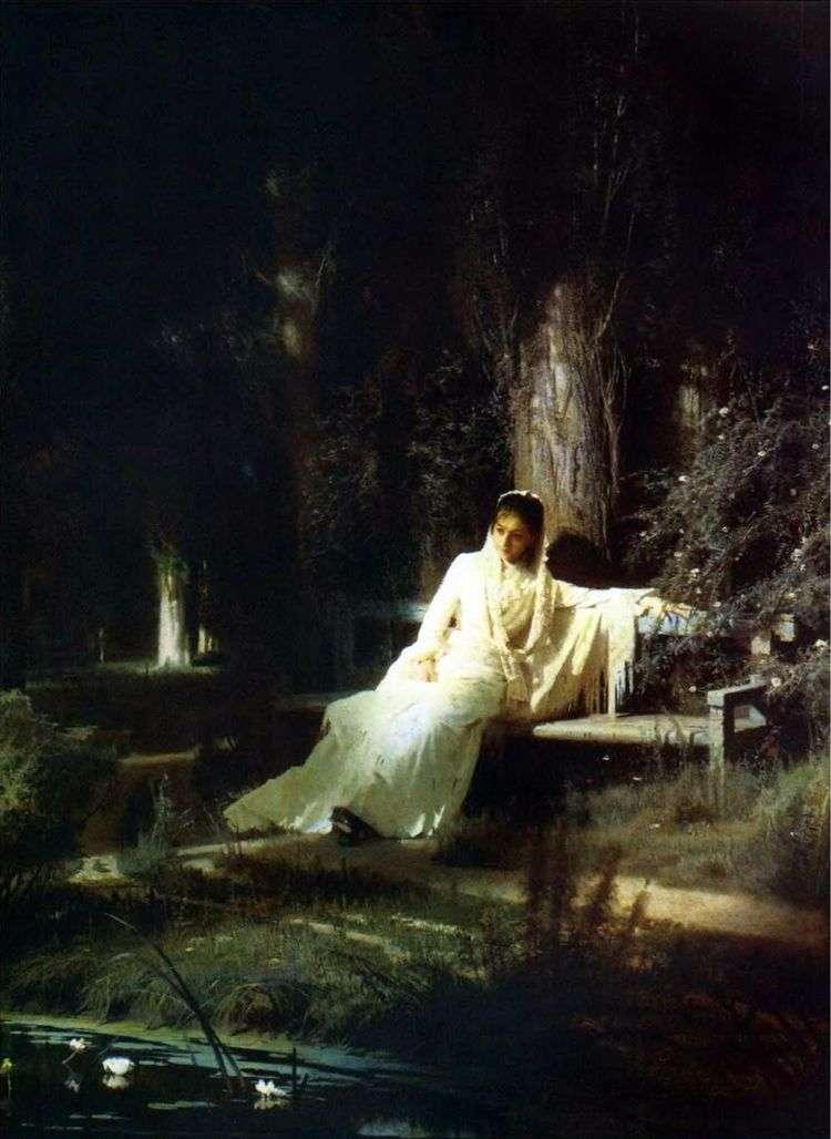 Лунная ночь   Иван Крамской