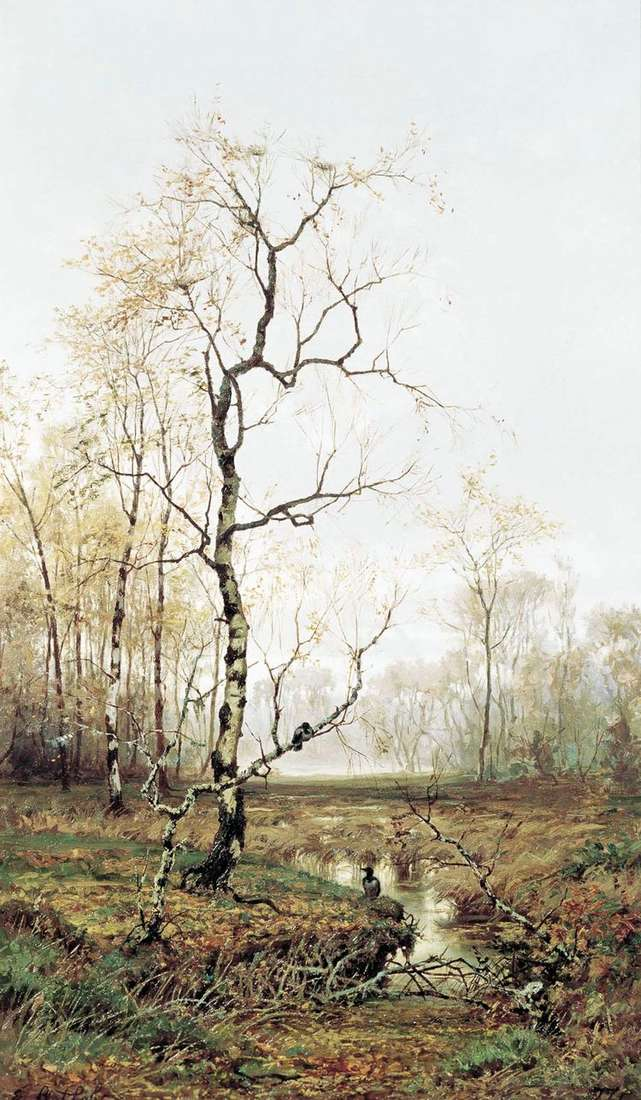 В лесу. По весне   Ефим Волков