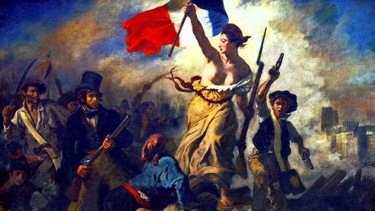 Свобода, ведущая народ (Свобода на баррикадах)   Эжен Делакруа