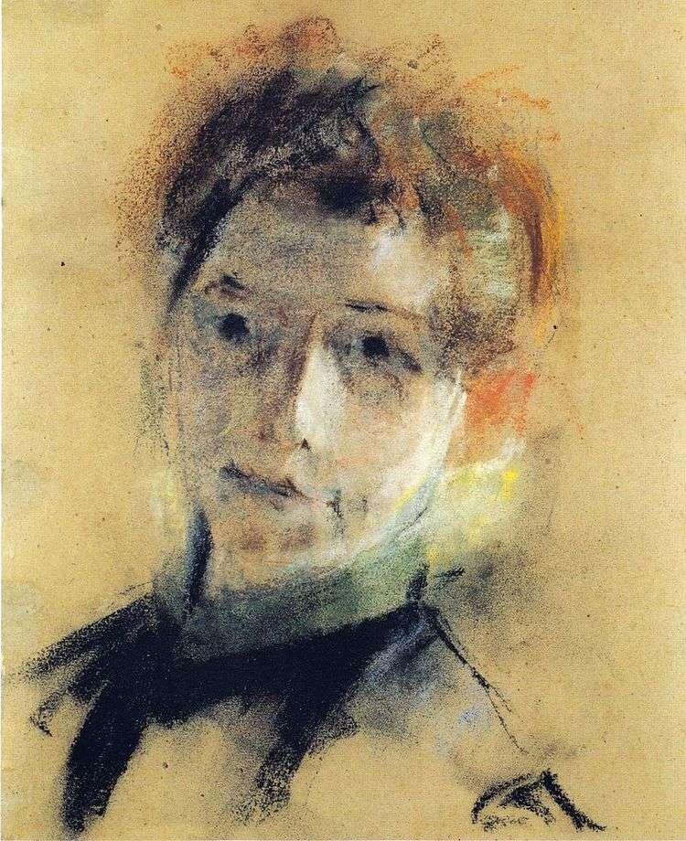 Автопортрет 1897 г.   Паула Модерзон Беккер