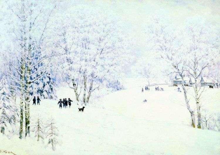 Русская зима. Лигачево   Константин Юон