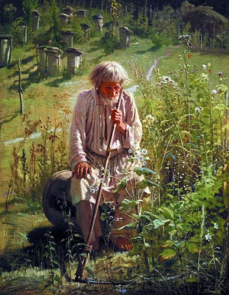 Пасечник   Иван Крамской