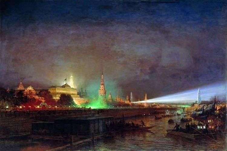 Иллюминация Кремля   Алексей Боголюбов