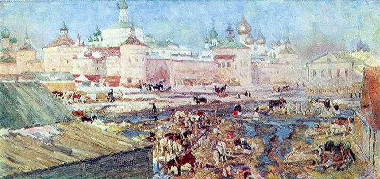 Синий день. Ростов Великий   Константин Юон