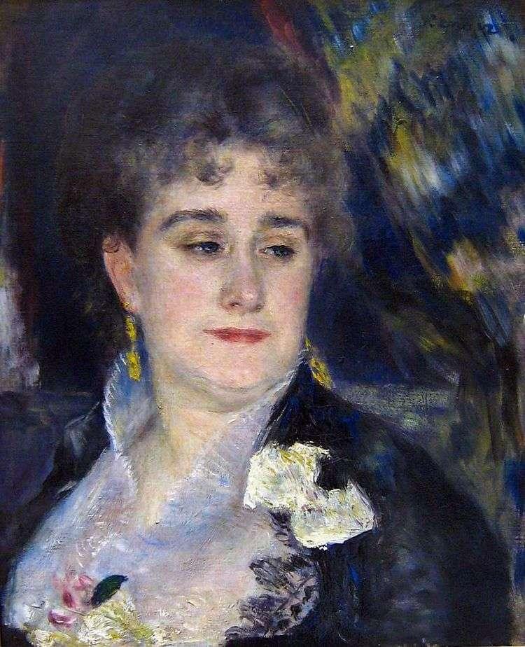 Портрет мадам Шарпантье   Пьер Огюст Ренуар