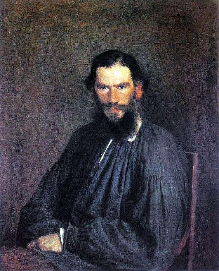 Портрет Л. Н. Толстого   Иван Крамской