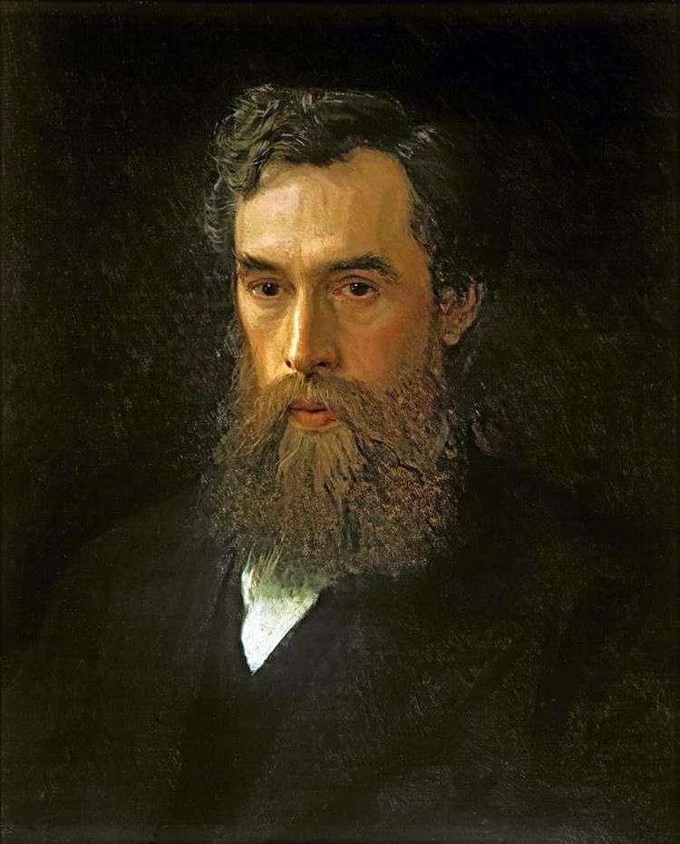 Портрет Павла Михайловича Третьякова   Иван Крамской