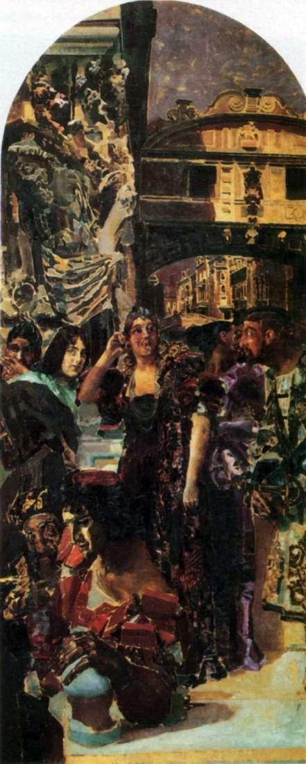 Венеция   Михаил Врубель