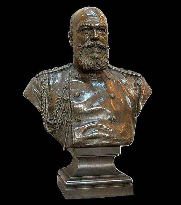 Бюст императора Александра III   Александр Бок