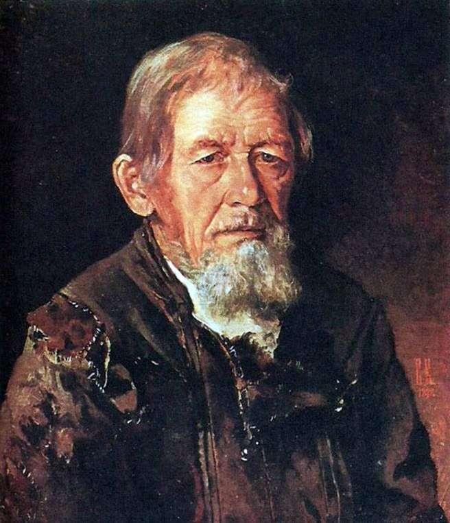 Портрет сказителя былин   Иван Крамской