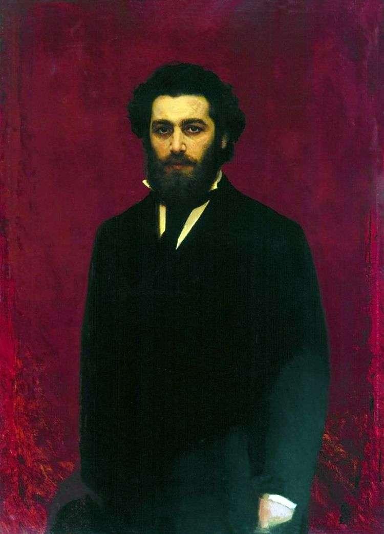 Портрет художника Архипа Ивановича Куинджи   Иван Крамской