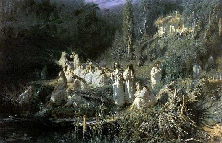 Майская ночь (Русалки)   Иван Крамской