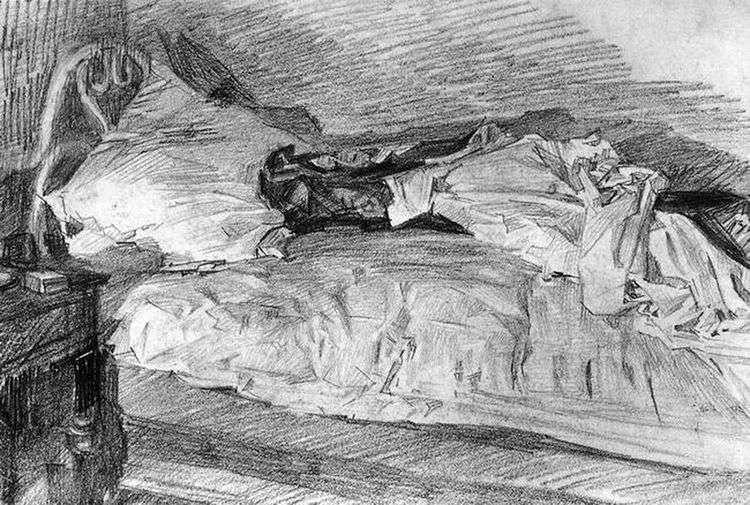 Кровать   Михаил Врубель