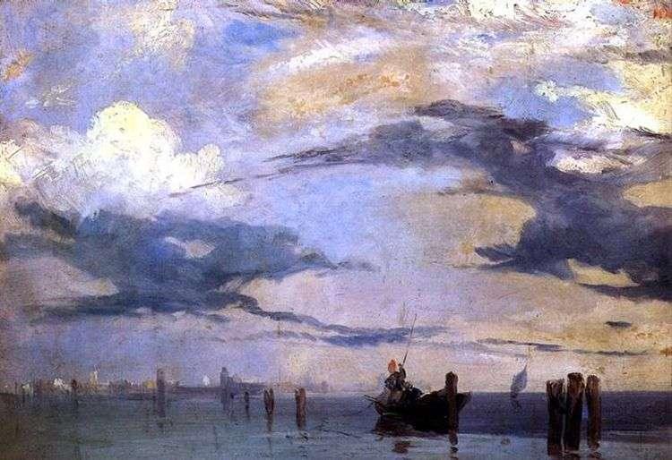 Венецианская лагуна   Ричард Паркс Бонингтон