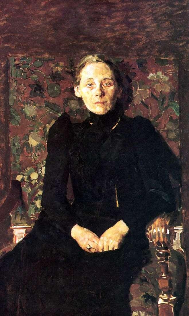 Портрет М. И. Арцыбушевой   Михаил Врубель