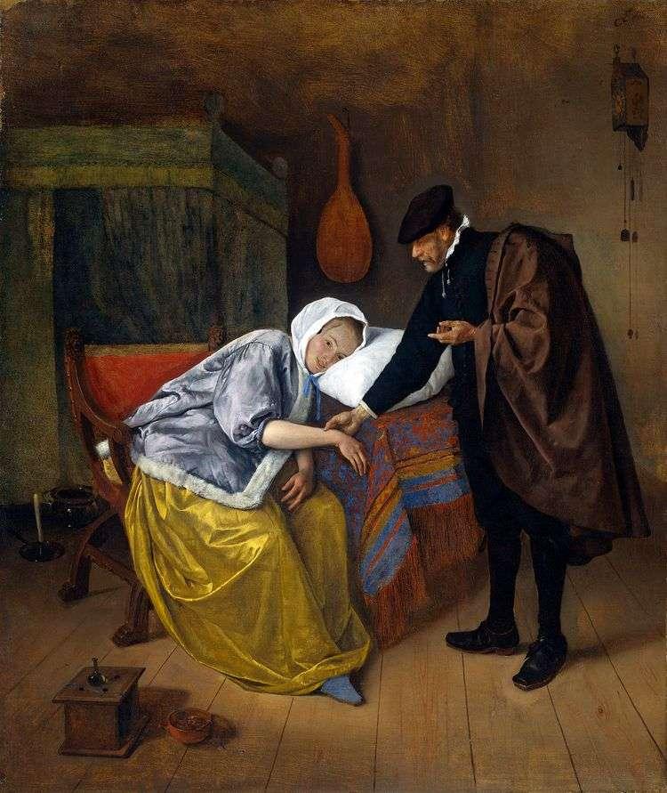 Доктор и пациентка   Ян Стен