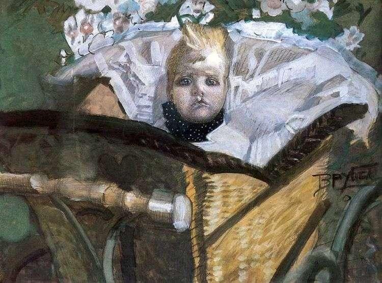 Портрет сына художника   Михаил Врубель