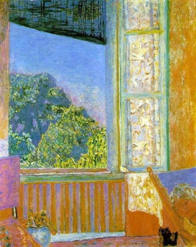 Открытое окно   Пьер Боннар