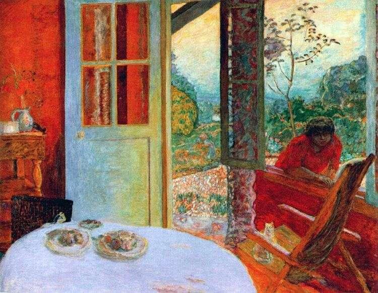 Столовая в загородном доме   Пьер Боннар