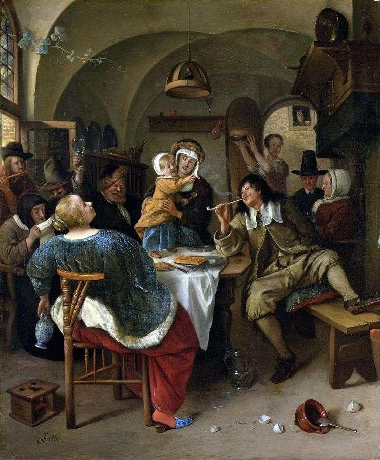 Семейный праздник   Ян Стен
