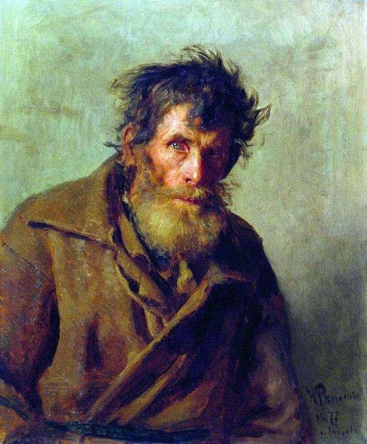Мужичок из робких   Илья Репин
