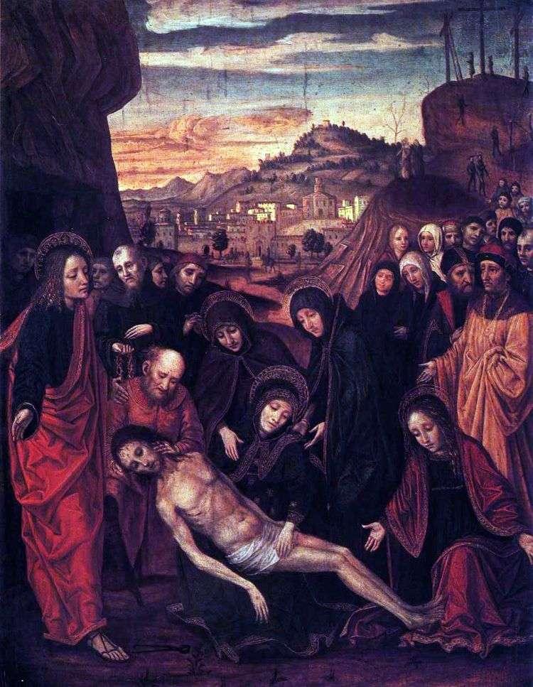 Оплакивание Христа   Амброджо Боргоньоне