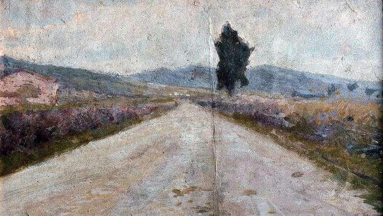 Тосканская дорога   Амедео Модильяни