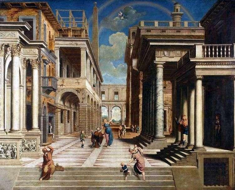 Явление Сивиллы императору Августу   Парис Бордоне