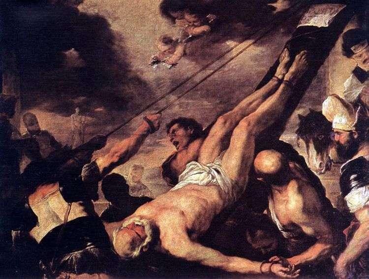 Распятие святого Петра   Лука Джордано